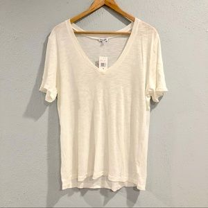Splendid | Super Soft White V Neck Top